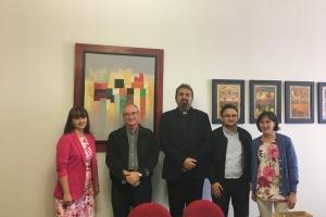 Posjet uprave KBF-a Teološkom fakultetu u Salamanci